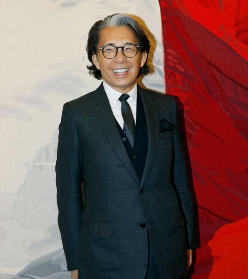 Modeontwerper Kenzo Takada gestorven aan Covid-19