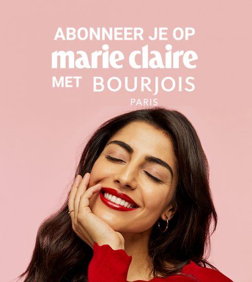 Abonneer je nu op Marie Claire en ontvang 3 gratis lipsticks van Bourjois