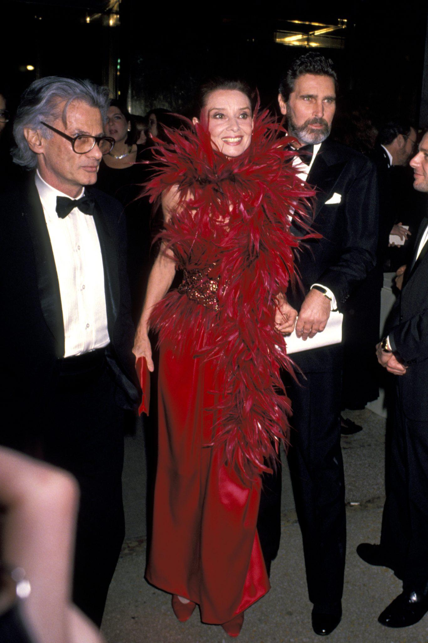Audrey Hepburn in 1989
