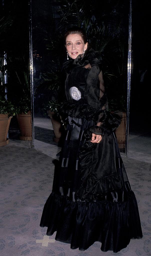 Audrey Hepburn in 1980