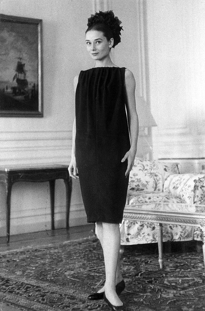 Audrey Hepburn in 1958.