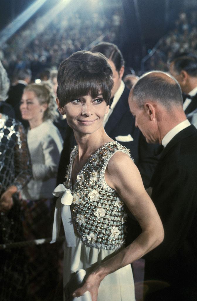 Audrey Hepburn in 1975