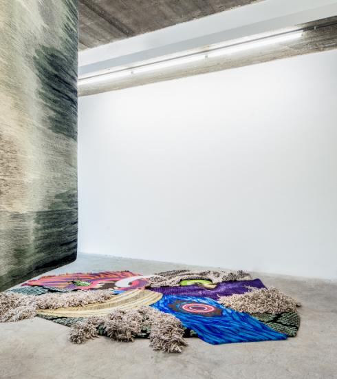 Christoph Hefti onthult nieuw werk in winkel van Dries Van Noten in LA