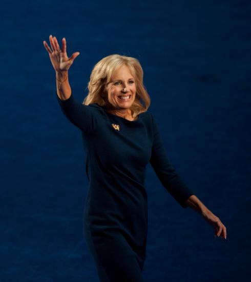 Jill Biden, de nieuwe first lady van de VS en een vrouw met een stem