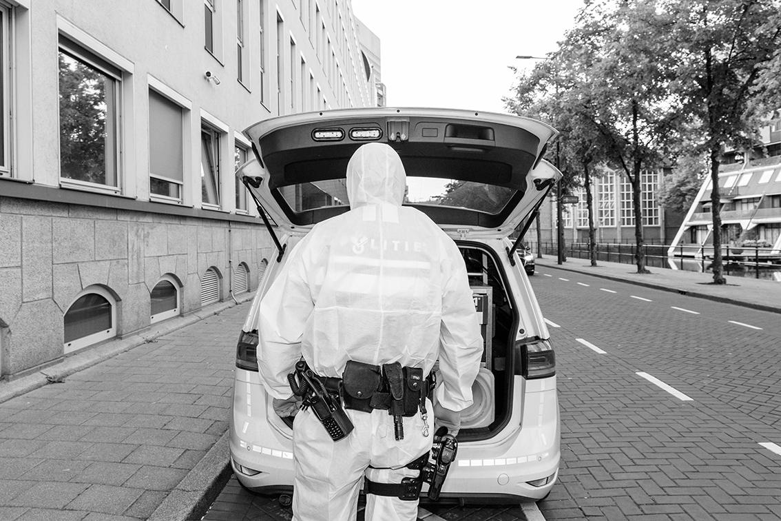 6 fotografen brengen de impact van de pandemie op een grootstad in beeld - 3