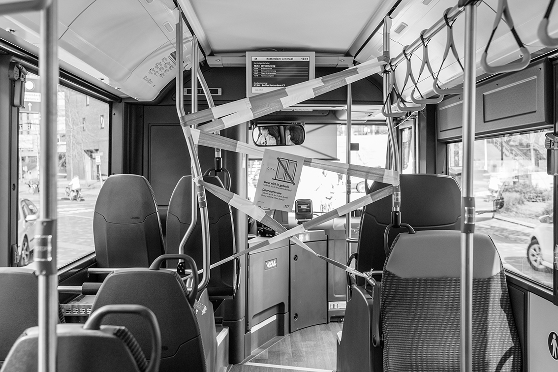6 fotografen brengen de impact van de pandemie op een grootstad in beeld - 5