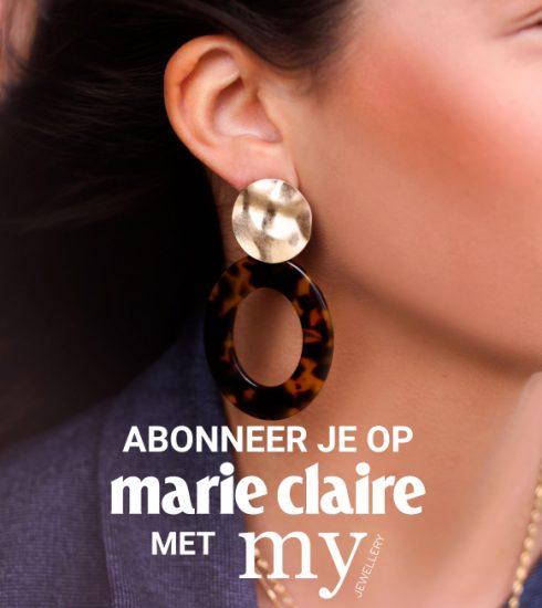 Abonneer je nu op Marie Claire en krijg 2 juwelen van My Jewellery