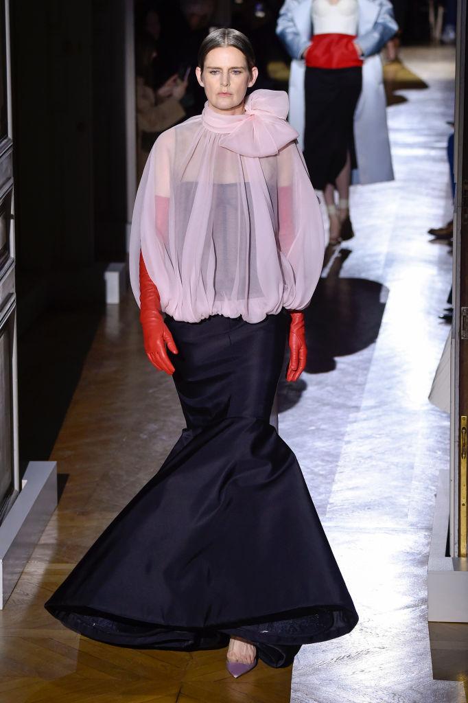 Stella Tennant voor Valentino