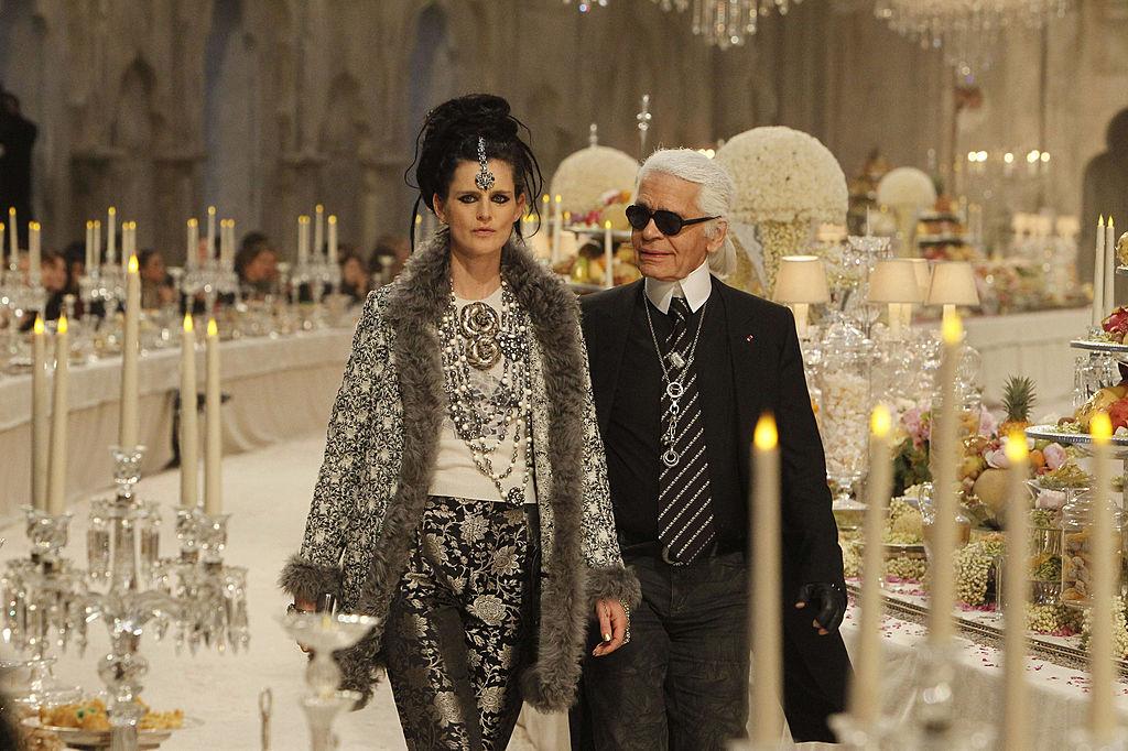 Stella Tennant voor Chanel