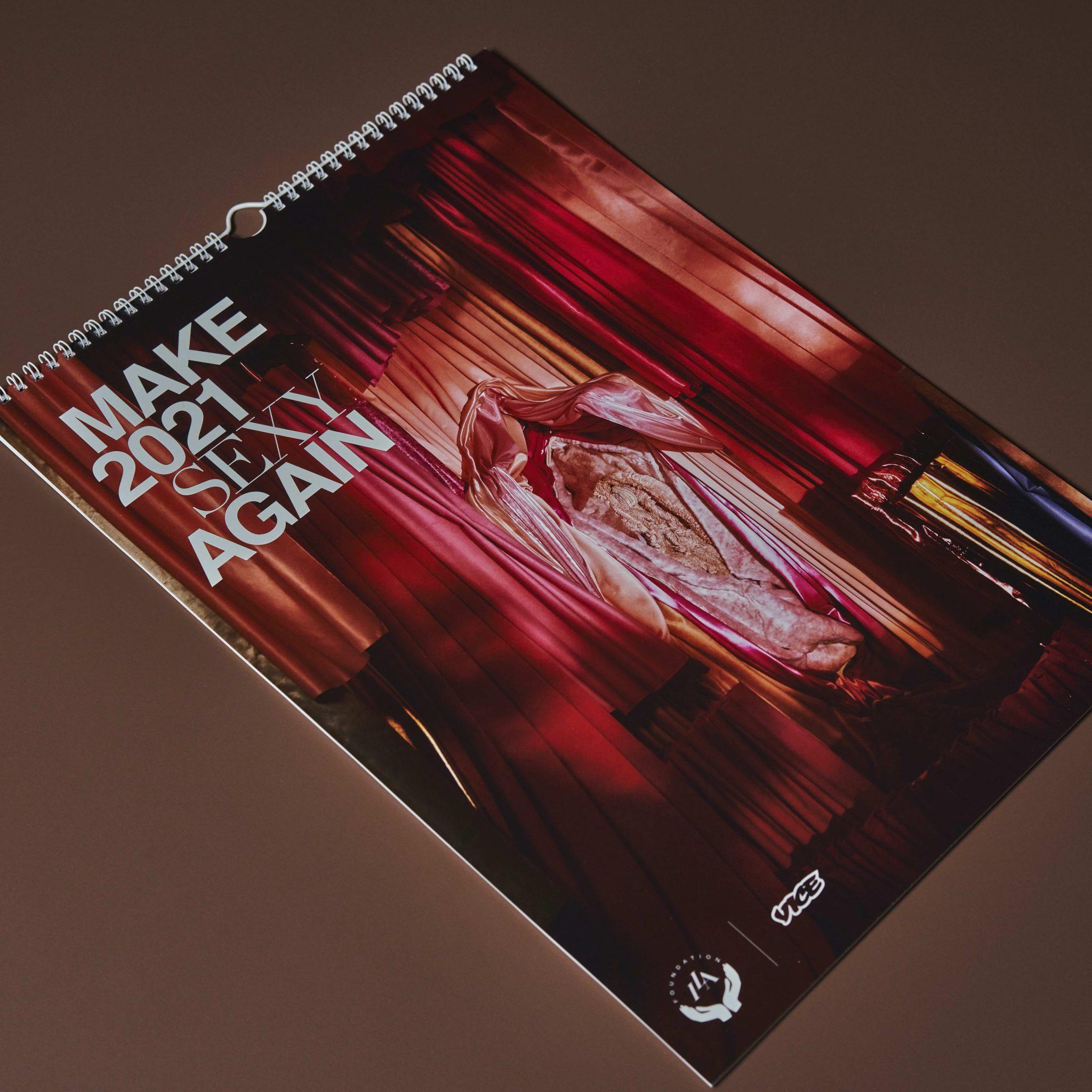 'Make 2021 Sexy Again'-kalender