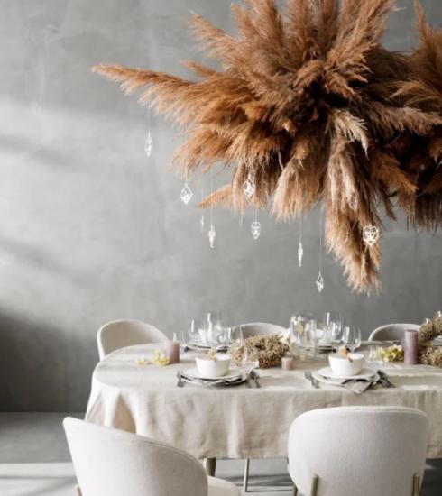 De kersttafel: 10 x inspiratie die je doet bezwijken voor de charme van hangende decoratie