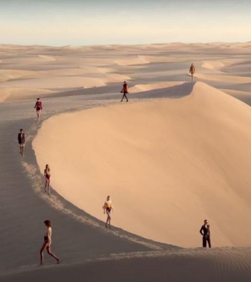 De mooiste showlocatie van het jaar: Saint Laurent in de woestijn