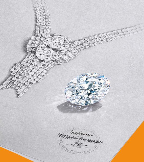 Tiffany & Co. maakt duurste halsketting ter wereld