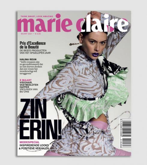 7 redenen waarom je de nieuwe Marie Claire in huis moet halen
