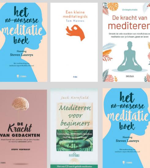 5 x mediteren met boeken die je innerlijke rust en veerkracht geven