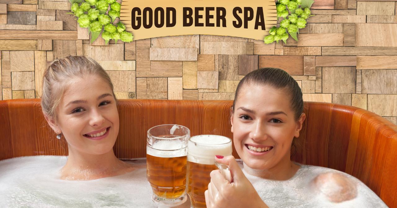 Baden in een bierbad: Brussel opent twee bierspa's in België - 1