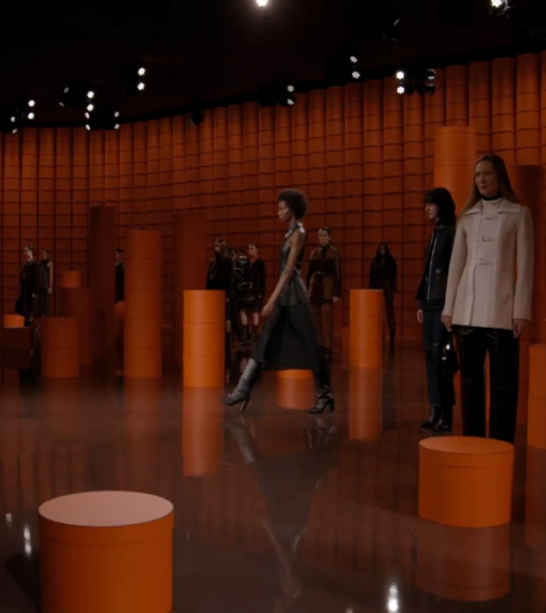 Hermès FW21/22: een performance in drie aktes