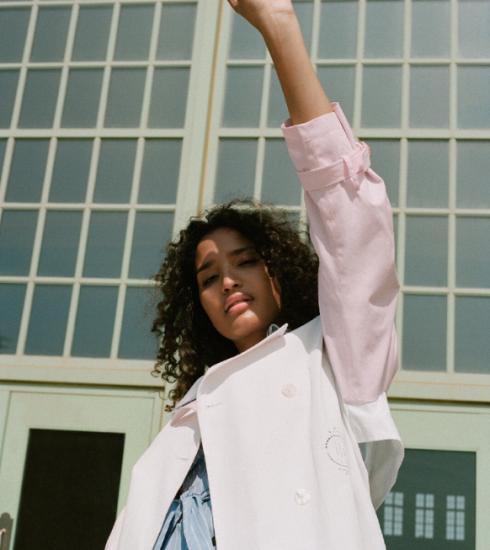 Indya Moore, een portret van de acteur, activist en model
