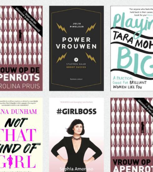 5 x boeken van ambitieuze powervrouwen