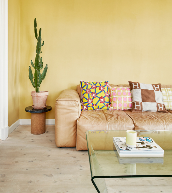 The Complete Book of Colourful Interiors - Geel