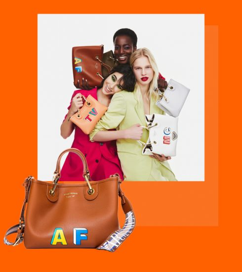 Laat nu je MyEA tas van Armani personaliseren in Antwerpen en Brussel