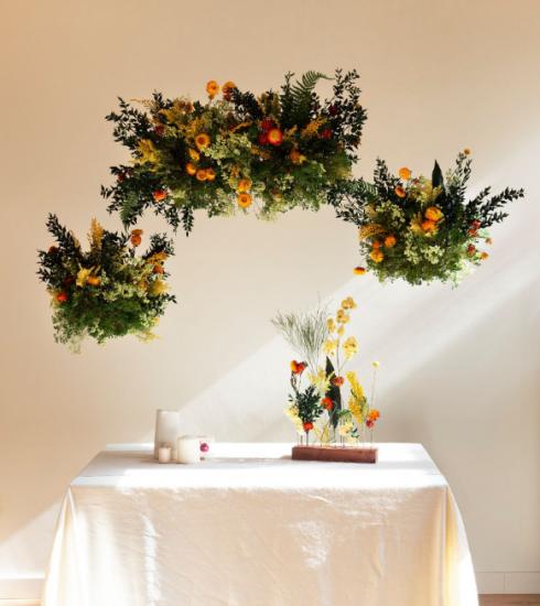 Van droogbloemen tot een bloemenwolk: zo begin je eraan