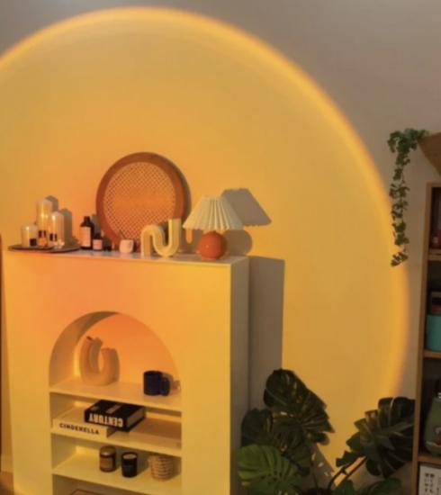 Kan een lamp die een zonsondergang nabootst, helpen om beter te slapen?