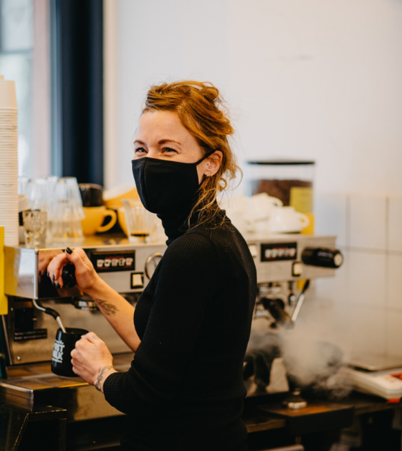 3 vrouwelijke ondernemers die hun eigen koffiebar uitbaten - 1