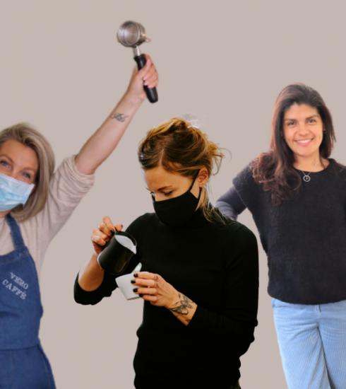 3 vrouwelijke ondernemers die hun eigen koffiebar uitbaten