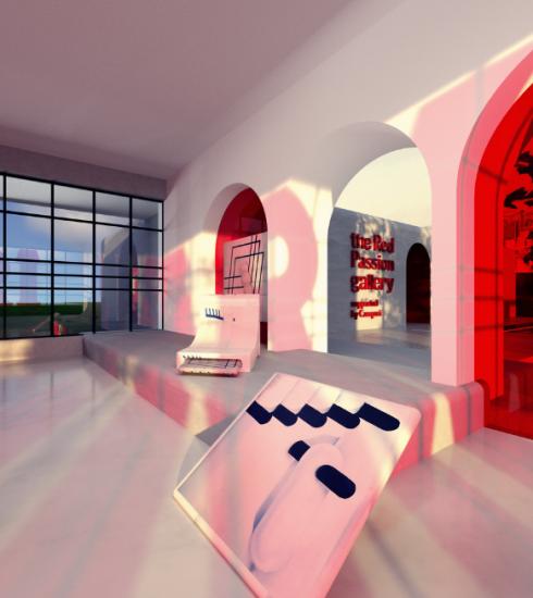 'The Red Passion Gallery' is de digitale kunstgalerij die Belgische artiesten verenigt