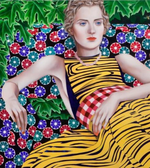 Kunstenares Jocelyn Hobbie maakt de meest stijlvolle schilderijen