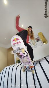 Woman to watch: skateboarder Lore Bruggeman op de Olympische Spelen - 1