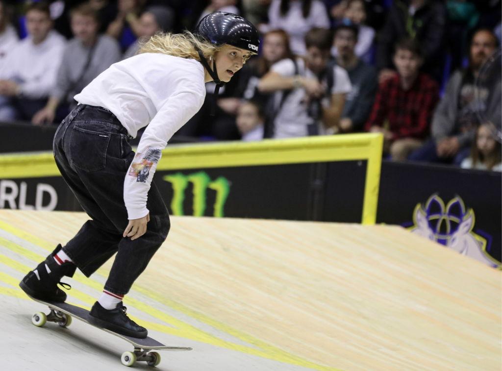 Woman to watch: skateboarder Lore Bruggeman op de Olympische Spelen - 2
