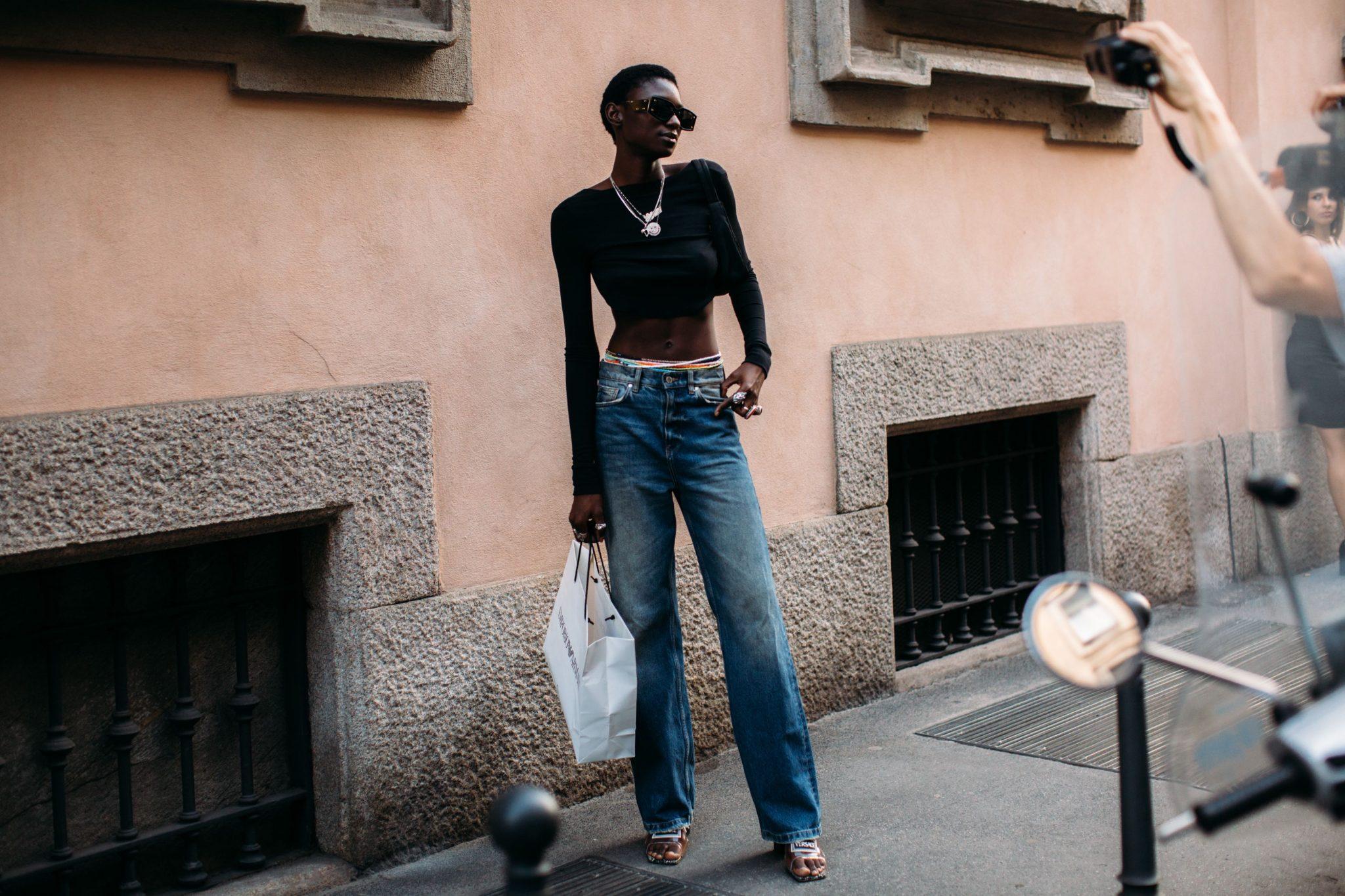 De skinny jeans is niet meer te zien op straat.