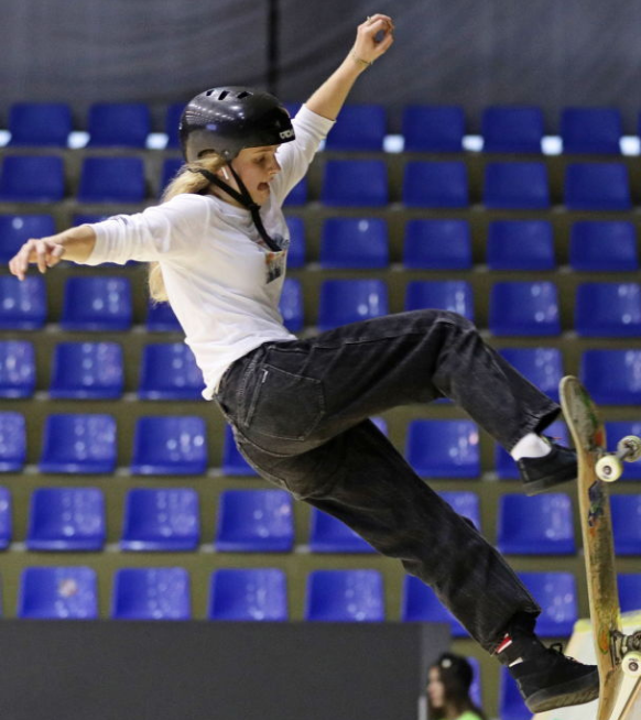 Woman to watch: skateboarder Lore Bruggeman op de Olympische Spelen