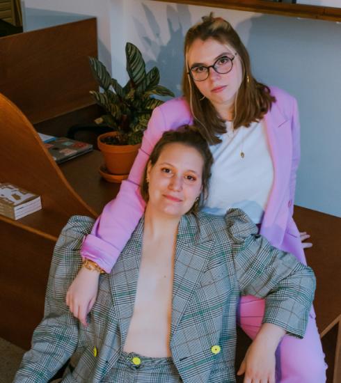 That's what x said is een nieuwe kunstruimte in Brussel van een jong vrouwelijk duo