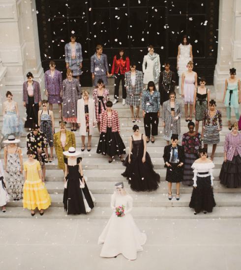 Chanel FW21/22 haute couture: kunst in beweging