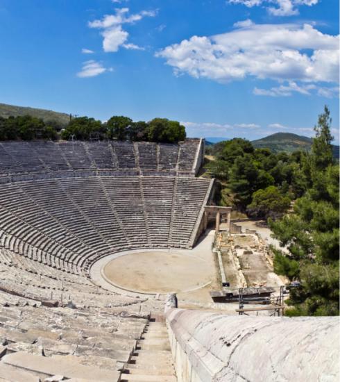 Kijk vanavond live mee naar het beroemde theaterstuk 'Kikkers' vanuit het Theater van Epidaurus
