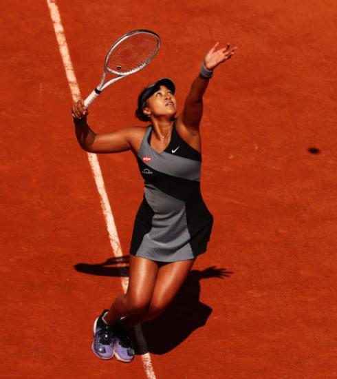 Een portret van Naomi Osaka, de activistische tennisster met een documentaire op Netflix