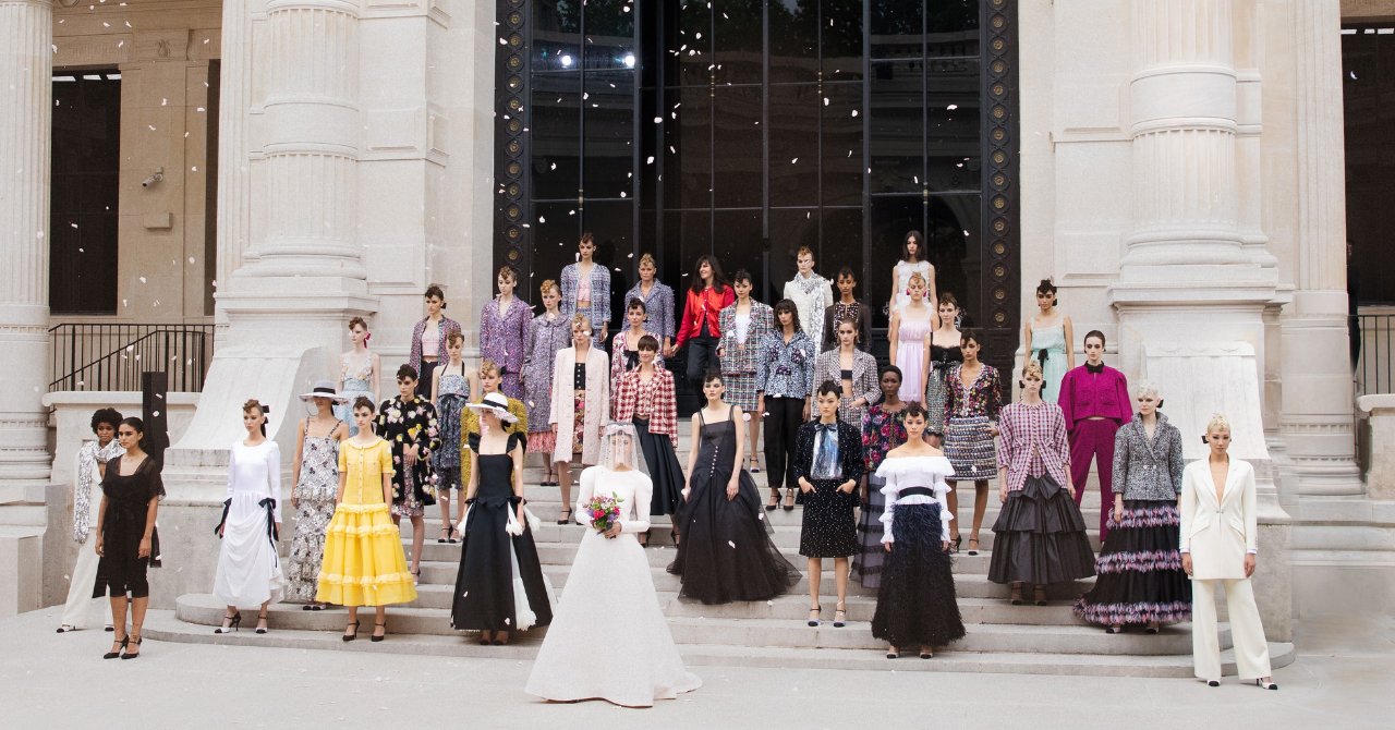 Chanel FW21/22 haute couture: kunst in beweging - 39