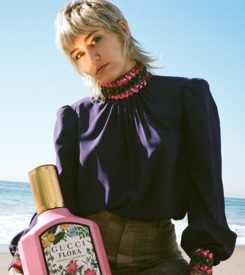 Miley Cyrus schittert in de nieuwe parfumcampagne van Gucci
