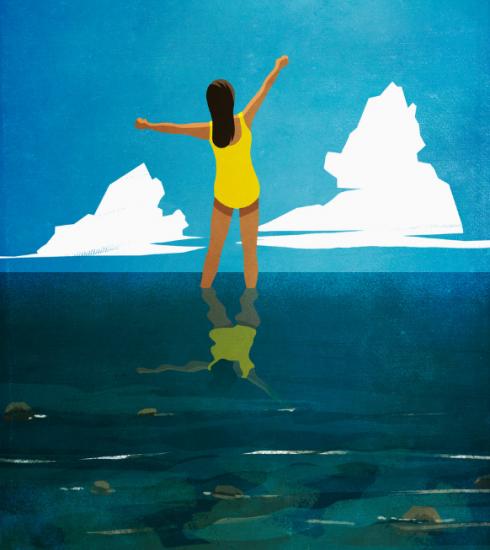 Oceaantherapie: of hoe de kracht van de zee ons welzijn verbetert