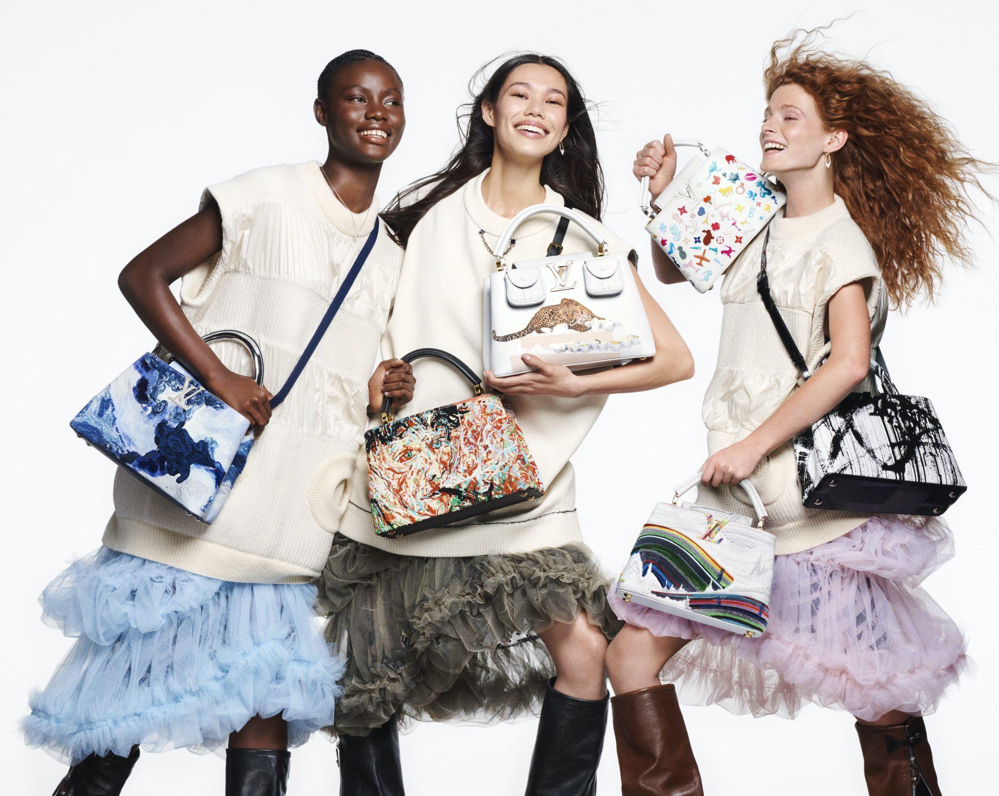 Zes kunstenaars zetten de Capucines-tas van Louis Vuitton naar hun hand - 7