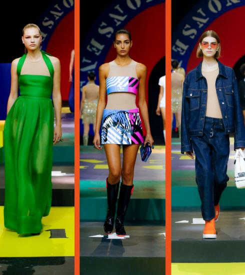 Dior SS22: een kleurrijke collectie met knipogen naar de sixties