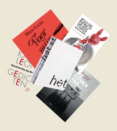 Deze 5 gedichtenboeken van Belgische en Nederlandse dichters wil je lezen